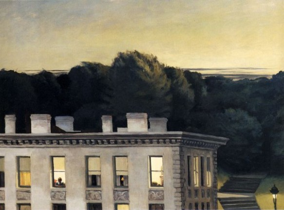 'Casa al capvespre' de Hopper