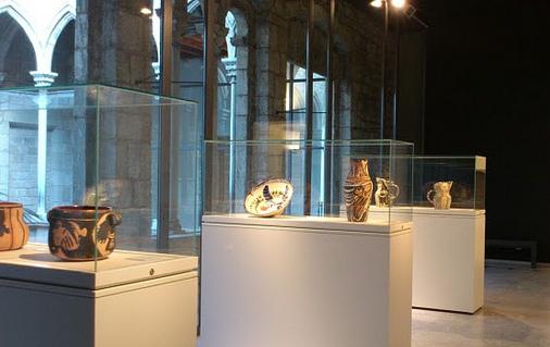 Sala de la permanent on es troben habitualment les ceràmiques