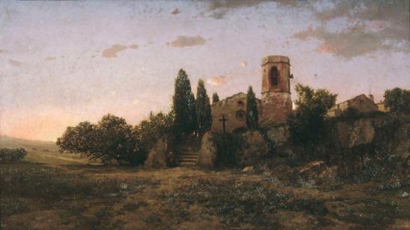 'Toc d'oració' de Modest Urgell