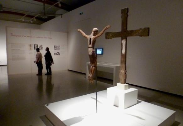 Espai dedicat al Crist de 1147