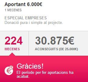 L'aportació extraordinària de 6.000 euros