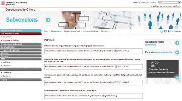 Portal de subvencions de l'OSIC
